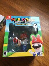 BRAND NEW Mario + Rabbids Kingdom Battle Collector's Edition Nintendo Switch