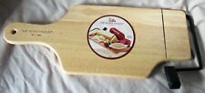 Rectangle Cheese Cutting Board Wood with WIRE CUTTER and Handle