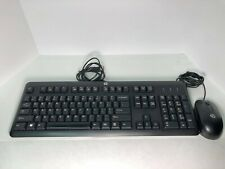 Hp keyboard and mouse Wired Hewlett Packard Used Good Condition