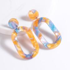 Acrylic Fashion Statement Plastic Acetate Stud Earrings. Topshop Stud Style