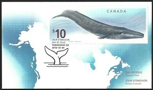 Canada   # 2405    BLUE WHALE     Brand New  2010 Unaddressed Issue