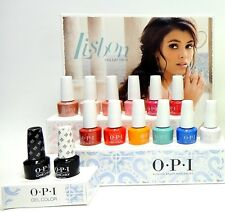 OPI Nail GelColor Gel Polish LISBON Color Collection 12ct + Base+Top w/ Display