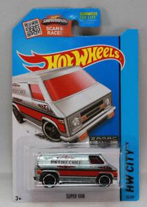 Hot Wheels Super Van ZAMAC 2015 HW City HW Rescue (105)