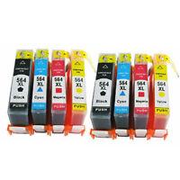 8 INK 564 XL for HP 564XL OfficeJet 4610 4620 4622 Deskjet3070 (NO PBK) 564 XL