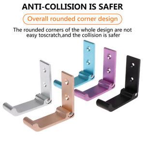 Headphone Holder Wall Hanger Hook Aluminum Alloy Foldable Stand HolderBDJN