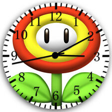 Super Mario Flowers Frameless Borderless Wall Clock Nice For Gifts or Decor Z55