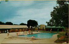 Eagle Rock Ranch Swimming Pool View Wimberley Texas TX Postcard C36