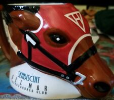 Seabiscuit Del Mar Thoroughbred Club Racetrack Limited Edition Souvenir Mug