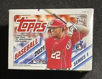2021 Topps Baseball Series 1 Blaster Box - TOPPS Anniversary Patch in every box