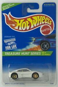 1996 Hot Wheels Treasure Hunt Series Ferrari 355 Limited Edition # 8 Of 12