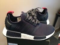 Adidas NMD R1 Runner W Nomad Women's Navy Blue Red S76011 6.5,7