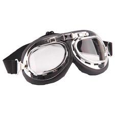 d4607cef0c Gafas moto motocicleta tipo aviador protectoras UV vintage retro  transparente