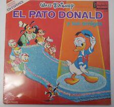 "Disney Record Walt Disney Presenta ""El Pato Donald"" -DQ-1212 M- Still Sealed(SS)"