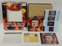 I Have No Mouth and I Must Scream Harlan Ellison pc Game Big Box MINT DISC !