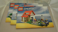 Lego Creator Hillside House 5771 Instructions Only
