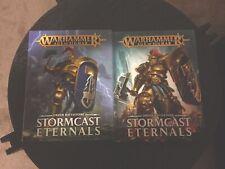 Warhammer Age of Sigmar Battletome Stormcast Eternals Bundle