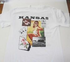 648a9afb8 New ListingVTG Kansas 1988 USO Tour T shirt Tagged M
