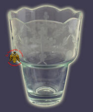 Orthodox Romanian Orthodox Hand Carved Glass Cups Clear