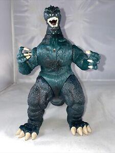 """Trendmasters Godzilla King Of The Monsters  Godzilla 10"""" ROARS EYES FLASH Mint!"""