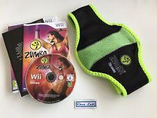 Zumba Fitness - Nintendo Wii - PAL FR - Avec Notice Et Ceinture