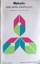 NIETZSCHE COSÌ PARLÒ ZARATHUSTRA NEWTON COMPTON 1980 INTROD. FERRUCCIO MASINI