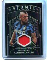 2020-21 Panini Obsidian Soccer Jersey Arturo Vidal Inter /149
