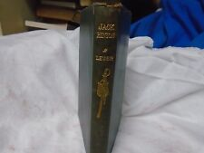 1903, Jack Hinton, by Charles Lever, Green Leather binding