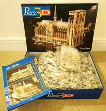 Puzz 3D Notre Dame Building, 952 Piece 3-D Build Puzzle with Instruction Poster