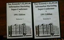 Dan Kennedy $2,495.00 Information Marketing Super Conference 1991 Edition CD Set