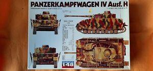 Panzerkampwagen PZKPFW.  MK IV Ausf. H  in 1/48 scale by Fuman