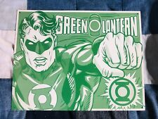 "GREEN LANTERN ""duotone"" Comic Tin Sign Metal Poster"