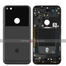 "5"" Google Pixel Nexus S1 Black Back Rear Battery Housing Fascia Cover Case Part"