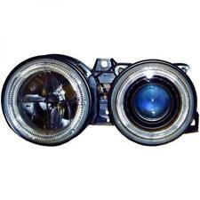 RHD LHD Projector Headlights Pair Clear Black H1 H1 For BMW 3 Series E30 82-94