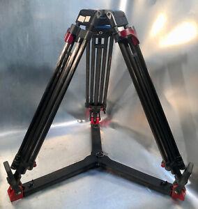 SACHTLER CF Speed Lock Carbon Stativbeine 2-stufig, Bodenspinne, 100mm Kalotte