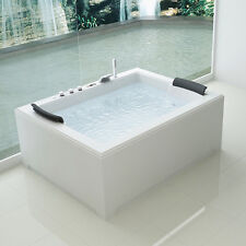 Vasca idromassaggio 180x141 Full optional 32 getti Riscaldatore cromoterapia| P