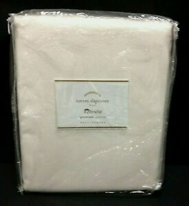 Pottery Barn PB Torrey Square Arm Sofa 86 in Cushion Slipcover Sunbrella Natural