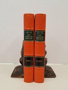Les Liaisons Dangereuses Pierre Choderlos de Laclos Fine Binding Ltd 25/50 1925