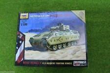 Zvezda M2A2 BRADLEY US Combattimento di Fanteria veicolo GUERRA CALDA SCALA 1/100 7406