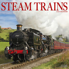 Steam Trains 2021 Calendar 15% Off Multi Orders!