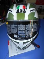 CASCO INTEGRALE AGV T-2  SEARGENT WHITE MIS. S