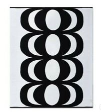 New Marimekko Target Kaivo Knit Throw Blanket Black White Nwt