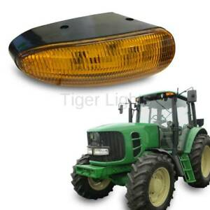 LED Amber Cab Light #TL8020 - Fits John Deere (OEM RE217551, AT151873, AT326622)