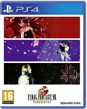 FF8 Final Fantasy VIII 8 Remastered PS4 Game PS5 - New & Sealed