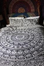 Indian Duvet Cover Set Cotton Comforter Covers Size Queen Mandala Bedding Set