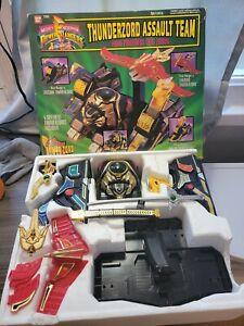 Mighty Morphin Power Rangers: Thunderzord Assault Team 1994 Vintage Bandai Toys