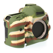 Soft Silicone Armor Skin Body Cover Case Bag for Canon EOS 5D Mark III 5Ds R