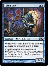MTG Magic M14 - (4x) Scroll Thief/Voleur de parchemin, English/VO