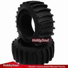 2pc RC 1/8 Paddles Tire Snow Sand Tyre For 1:8 HPI HSP Traxxas Baja Buggy Master