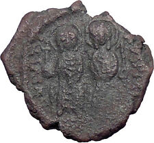 Justin II & Queen Sophia 565AD Ancient Authentic Byzantine Coin Large K  i28377