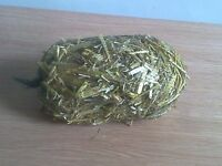 6 x nets of barley straw for natural algae treatment in ponds direct from farm